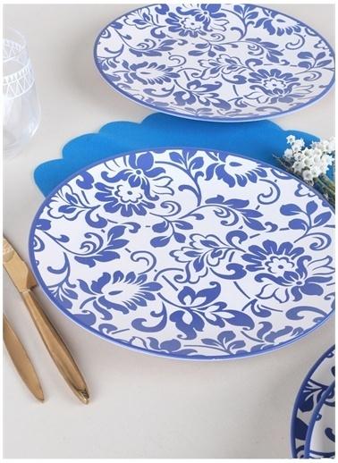 Keramika Servis Tabağı Beyaz